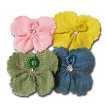 Maya Road - Trinket Blossoms - Textured Knit Flower