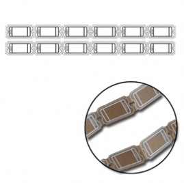Maya Road - Kraft Large Ticket Strips - White