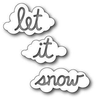 Memory Box - Die - Let it Snow Clouds