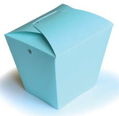 Memory Box - Die - Small Takeout Box (requires large format die cut machine)