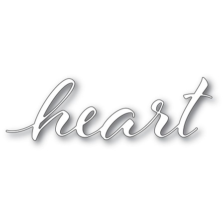 Memory Box - Die - Heart Airy Script