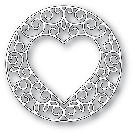 Memory Box - Die - Gilded Heart Circle