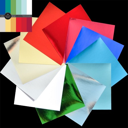 Memory Box - Polished Foil 6x6 Paper Pad