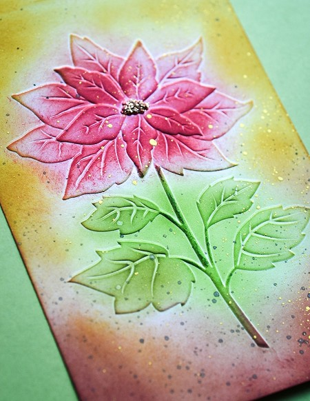 Memory Box - 3D Embossing Folder - Magnificent Poinsettia
