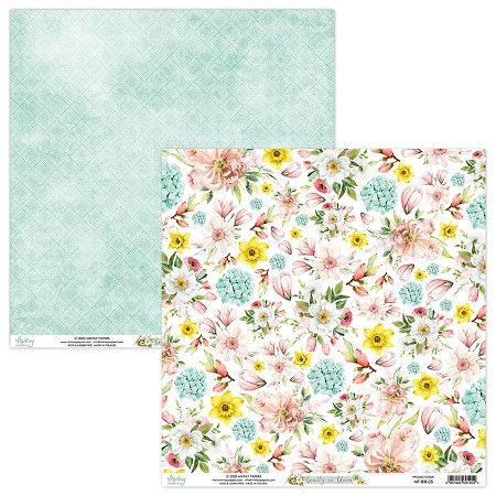 "Mintay by Karola - Beauty in Bloom Collection - 12""x12"" Cardstock - #5"