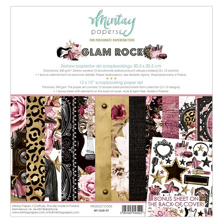 Mintay by Karola - Glam Rock Collection - Collection Pack