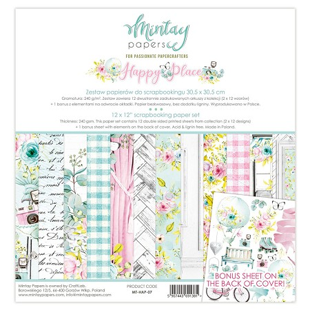 Mintay by Karola - Happy Place Collection - Collection Pack