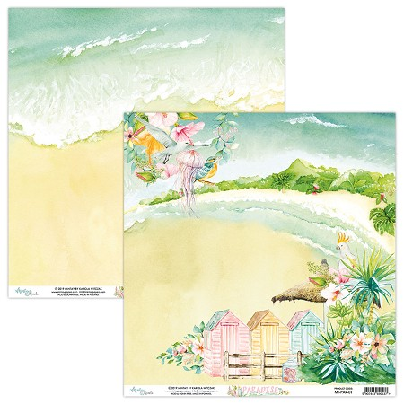 "Mintay by Karola - Paradise Collection - 12""x12"" Cardstock - #1"