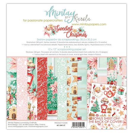 Mintay by Karola - Sweetest Christmas Collection - Collection Pack