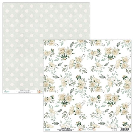 "Mintay by Karola - Tiny Miracle Collection - 12""x12"" Cardstock - #5"