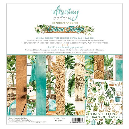 Mintay by Karola - Urban Jungle Collection - Collection Pack
