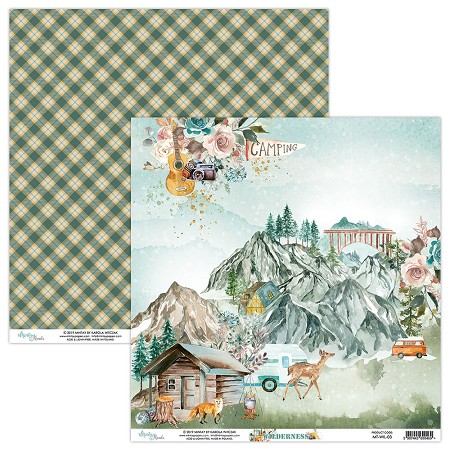 "Mintay by Karola - Wilderness Collection - 12""x12"" Cardstock - #3"