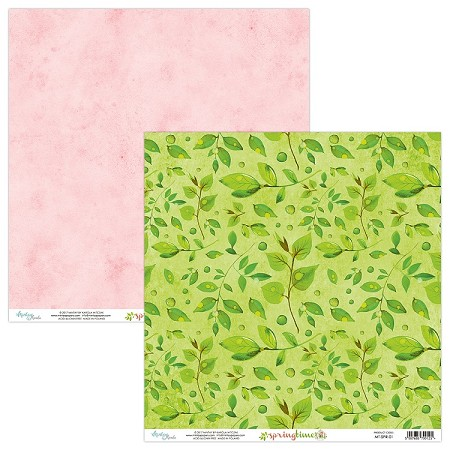 "Mintay by Karola - Springtime Collection - 12""x12"" Cardstock - #1"