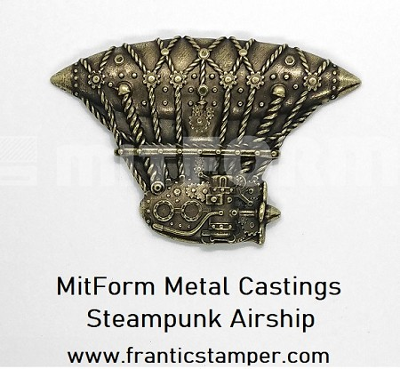 MitForm - Metal Casting - Steampunk Airship (1 pc)