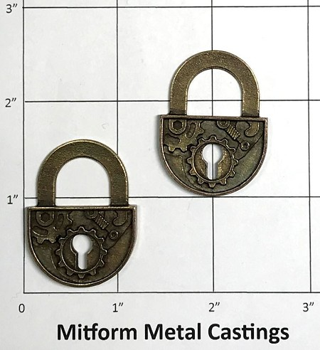 MitForm - Metal Casting - Gear Lock (2 pcs)