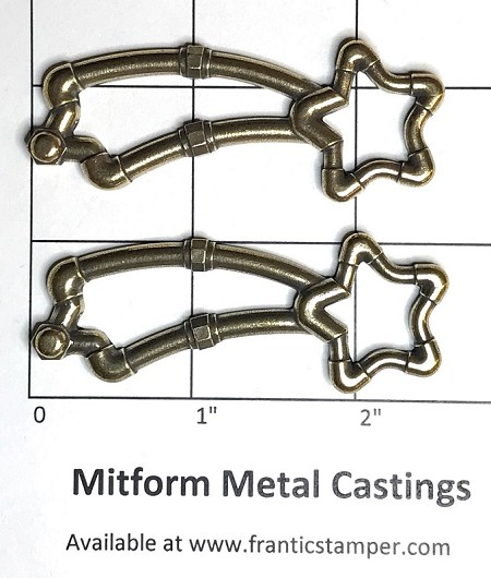 MitForm - Metal Casting - Pipeworks Shooting Star (2 pcs)