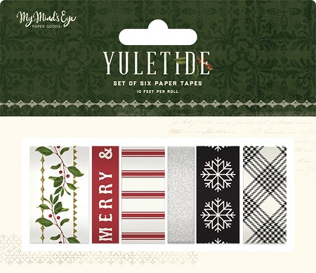 My Mind's Eye - Yuletide Collection - Paper Tape