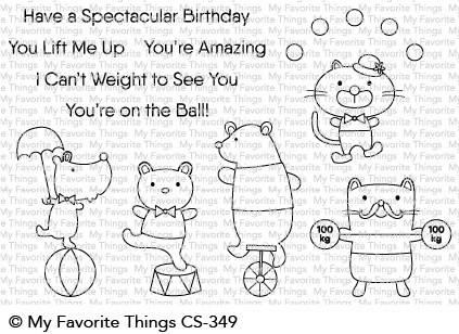 My Favorite Things - Clear Stamp - Spectacular Birthday