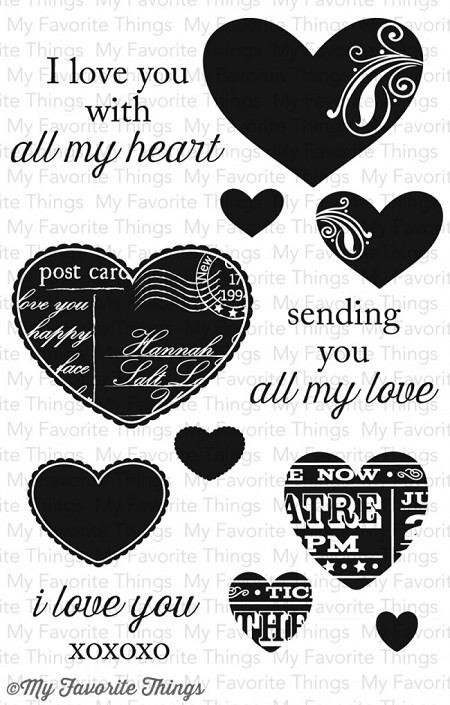 My Favorite Things - Clear Stamp - LJD All My Love
