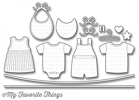 My Favorite Things - Die-namics - LLD Bundle of Baby Clothes