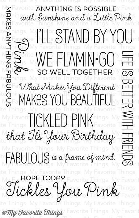 My Favorite Things - Clear Stamp - LLD Tickled Pink