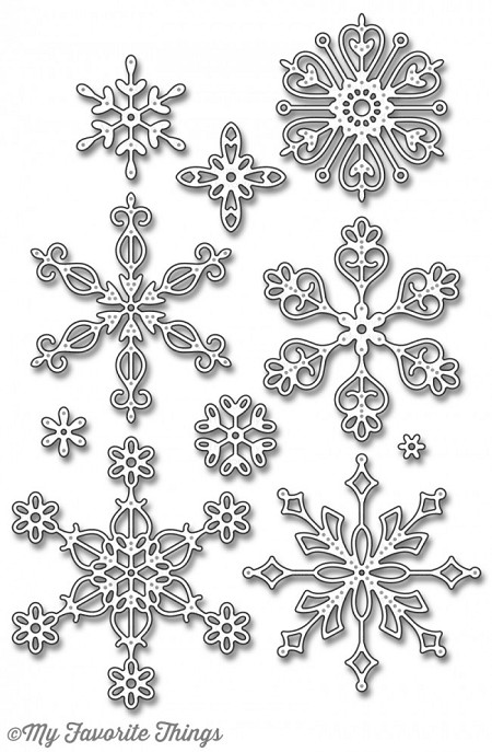 My Favorite Things - Die-namics - Stylish Snowflakes