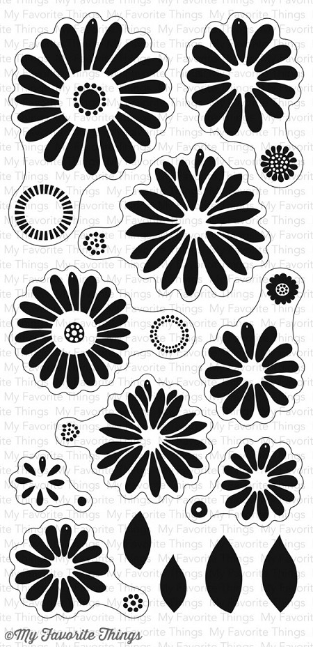 My Favorite Things - Clear Stamp - Plentiful Petals