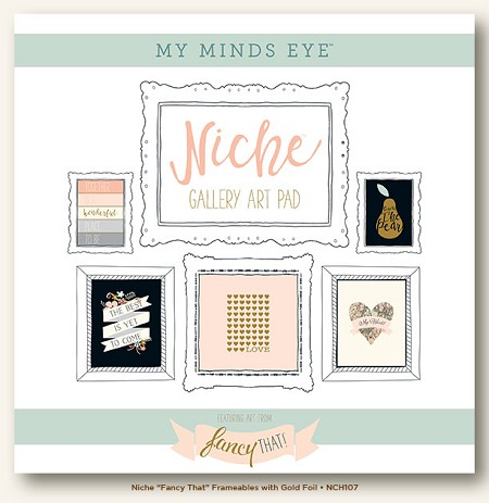 My Mind's Eye - Fancy That Collection - Niche That Gold Foiled Frameables