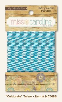 "My Mind's Eye - Miss Caroline - Dilly Dally ""Celebrate"" - Twine :)"