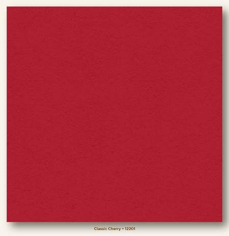 "My Mind's Eye - My Colors Cardstock - Heavyweight 12""x12"" - Classic Cherry"