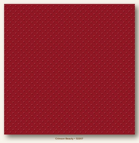 "My Mind's Eye - My Colors Cardstock - Mini Dots 12""x12"" - Crimson Beauty"