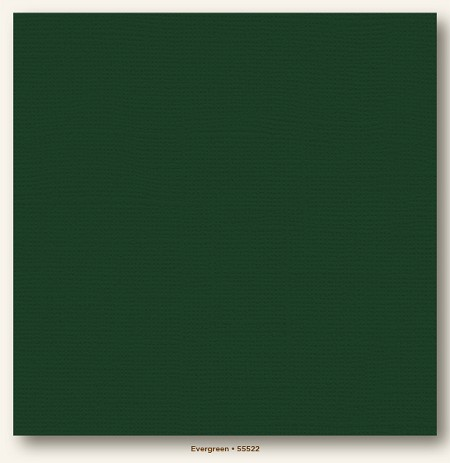 "My Mind's Eye - My Colors Cardstock - Canvas 12""x12"" - Evergreen"