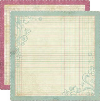 So Sophie Die Cut Paper - Little Lady Lovely Ledger
