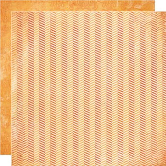 "Stella & Rose - Mabel Double Sided Paper ""So Sweet"" Herringbone"
