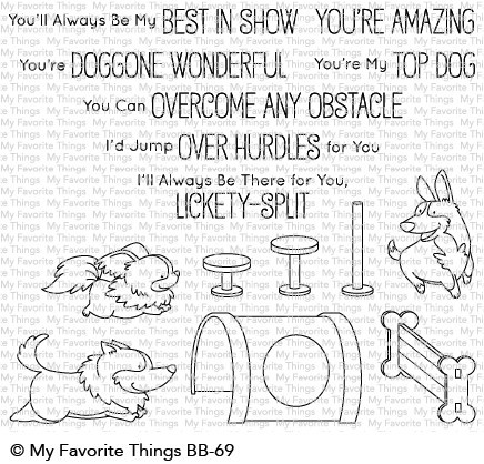 My Favorite Things - Clear Stamp - BB Best in Show