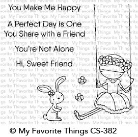 My Favorite Things - Clear Stamp - Sweet Friends