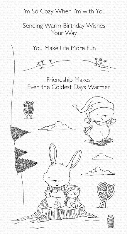 My Favorite Things - Clear Stamp - SY Frost-Loving Friends