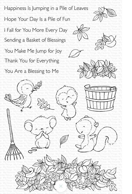 My Favorite Things - Clear Stamp - SY Piles of Fun