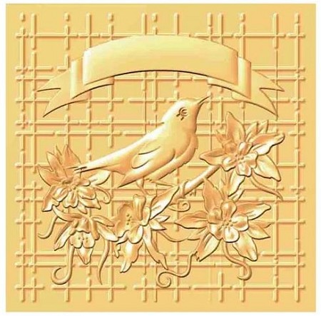Nellie Snellen's - 3D Embossing Folder - Bird