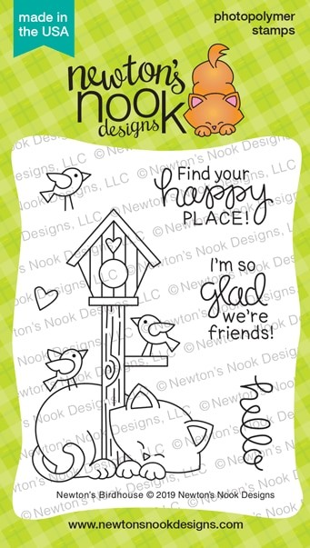 Newton's Nook - Clear Stamp - Newton's Birdhouse