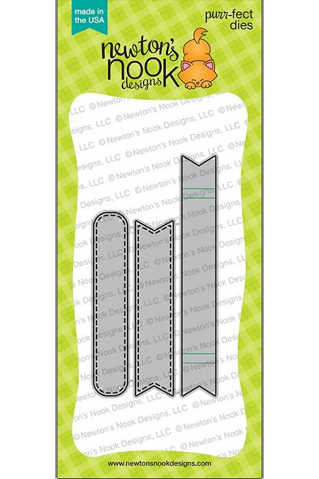 Newton's Nook - Cutting Die - Banner Trio