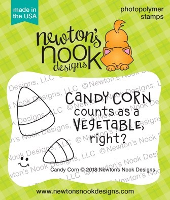 Newton's Nook - Clear Stamp - Candy Corn