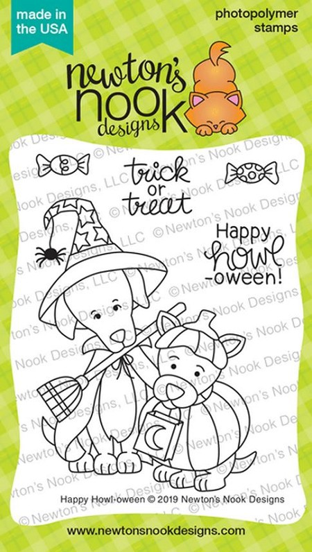 Newton's Nook - Clear Stamp - Happy Howl-oween