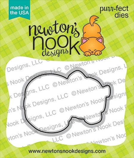 Newton's Nook - Cutting Die - Pug-kin