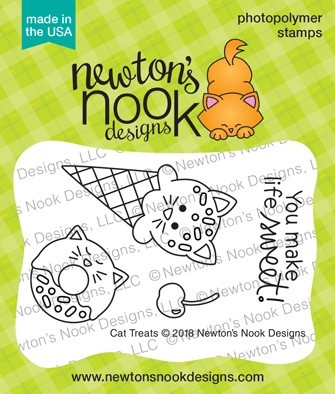 Newton's Nook - Clear Stamp - Cat Treats