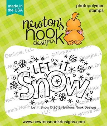 Newton's Nook - Clear Stamp - Let it Snow