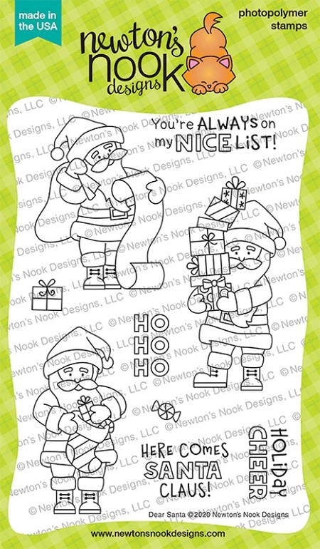 Newton's Nook - Clear Stamp - Dear Santa