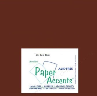 "Paper Accents - 12""x12"" Cardstock - Smooth Bark"