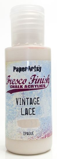 Paper Artsy - Fresco Finish Acrylic Paints - Vintage Lace (opaque)