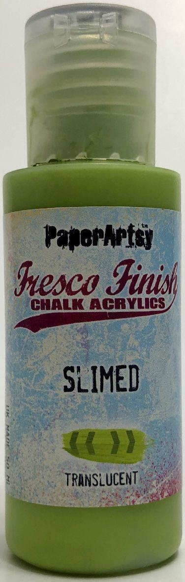 Paper Artsy - Fresco Finish Acrylic Paints - Slimed (translucent)